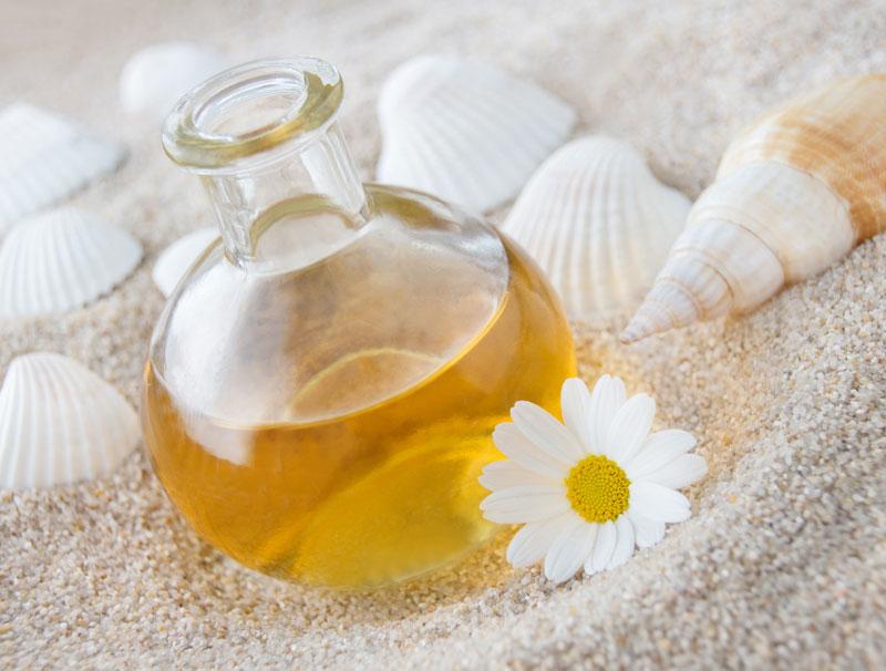 wertvolles Öl aus reiner Kamille